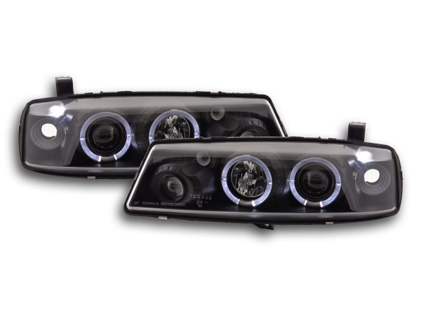 headlight Opel Calibra Yr. 90-98 black