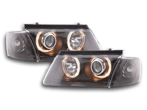 Angel Eye headlight VW Passat type 3B Yr. 97-00 black