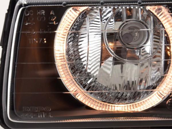 Angel Eye headlight BMW serie 3 E36 black