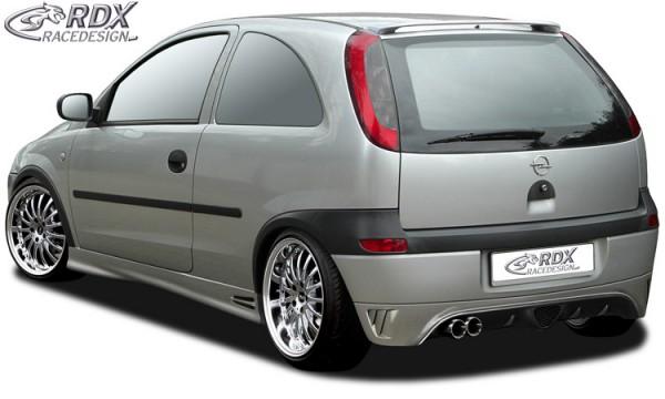 Hedendaags RDX rear bumper extension OPEL Corsa C | Rear | Bumpers | Exterior DO-27