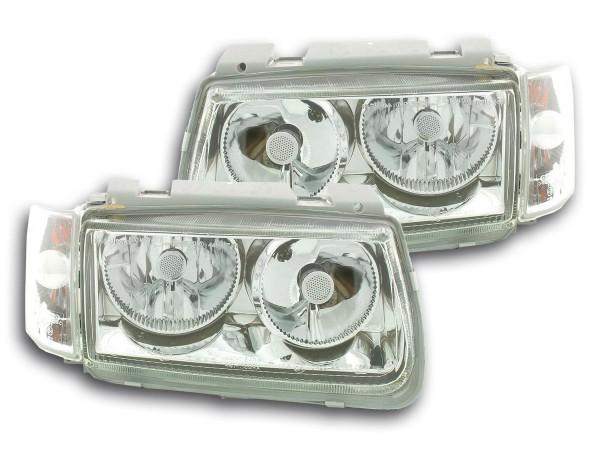 FK headlight Light Auto light Powerlook for VW Polo type 6N Yr. 94-99 chrome