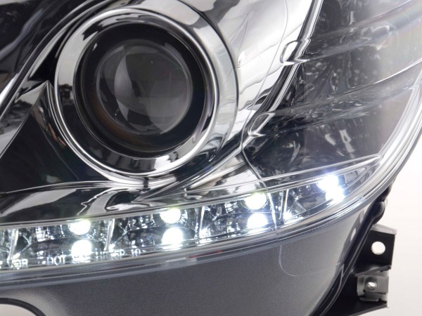 Daylight headlight Mercedes C-Classe type W204 Yr. 07-10 chrome