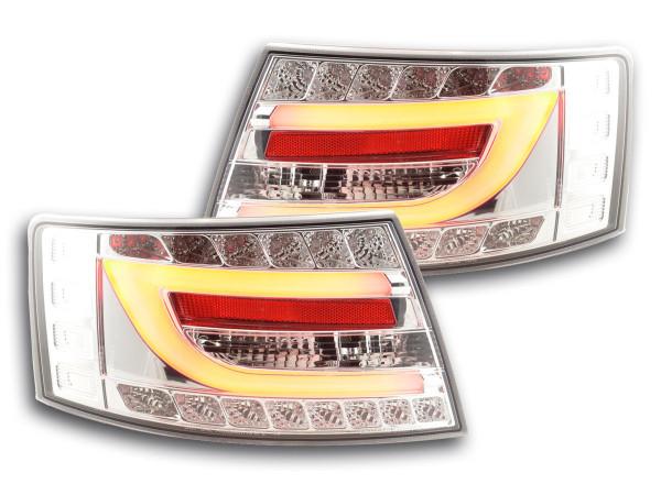 Taillights LED Audi A6 saloon (4F) Yr. 04-08 chrome