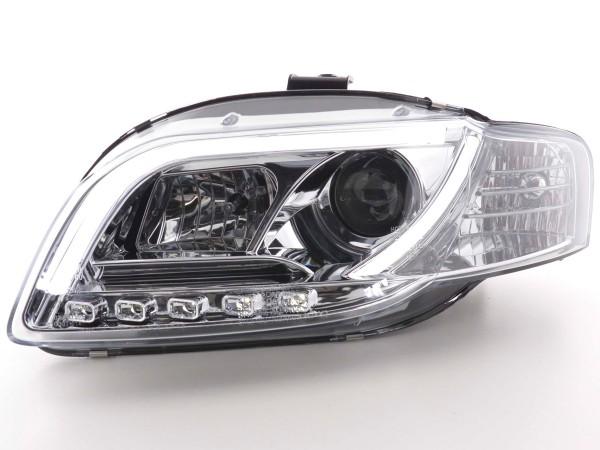 Daylight headlight Set Audi A4 type 8E Yr. 05-07 chrome