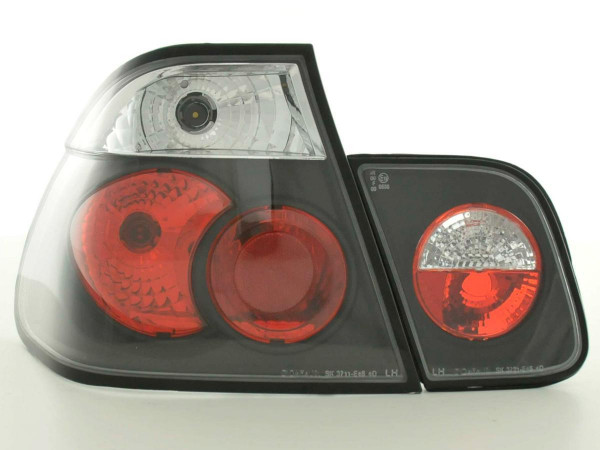 Taillights BMW serie 3 saloon type E46 Yr. 01-05 black