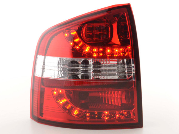 Led Taillights Skoda Octavia Combi Typ 1Z Yr. 05- red/clear