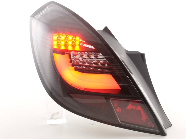Taillights Set LED Opel Corsa D 3-dr Yr. 06-10 black