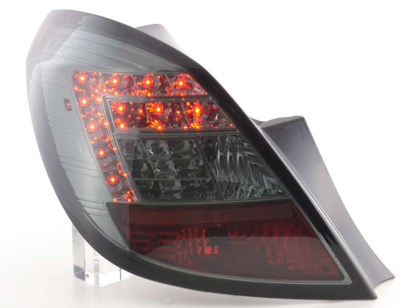 Led Taillights Opel Corsa D 5-dr Yr. 06-10 black