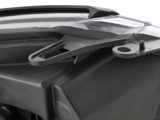 headlight Citroen C3 Yr. 02-08 black