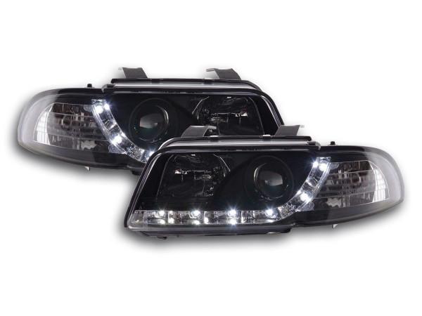 Daylight headlight Audi A4 type B5 Yr. 95-99 black
