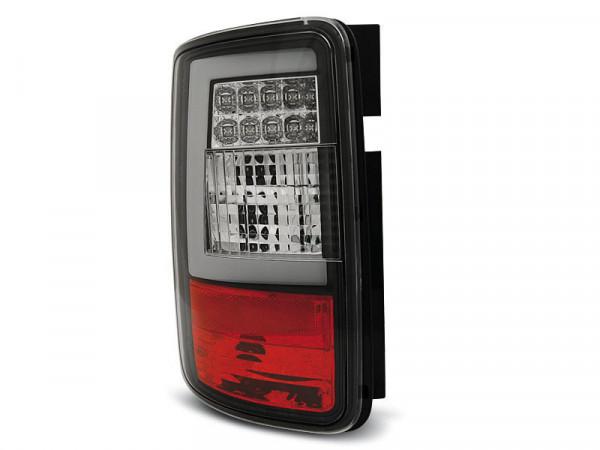 Led Bar Tail Lights Black Fits Vw Caddy 03-03.14