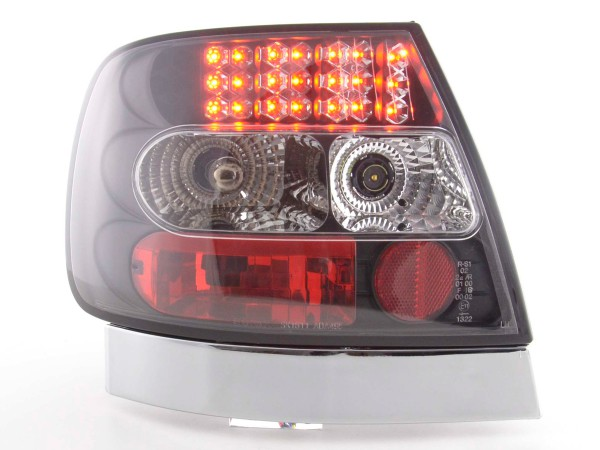 Led Taillights Audi A4 saloon type B5 Yr. 95-00 black
