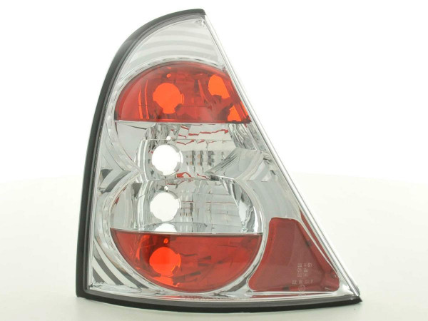 Taillights Renault Clio type B Yr. 98-01 chrome