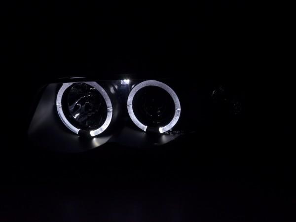 headlight Audi A4 type B5 Yr. 95-99 black