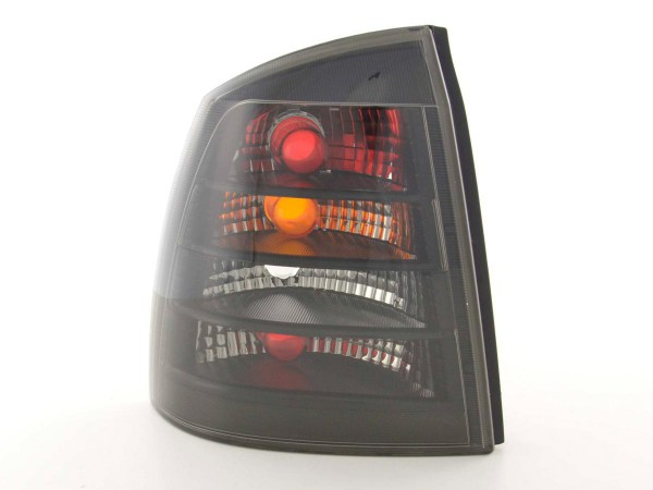 Taillights Opel Astra G 2/4-dr, black