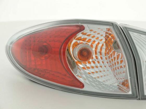 Rear lights Alfa Romeo 147 Typ 937 Yr. 00-04 chrome