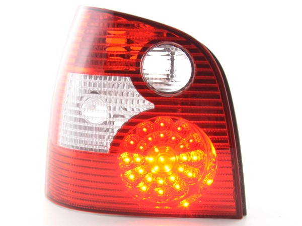 Led Taillights VW Polo type 9N Yr. 01-05 red/clear