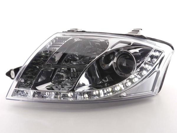 Daylight headlight Audi TT type 8N Yr. 99-05 chrome