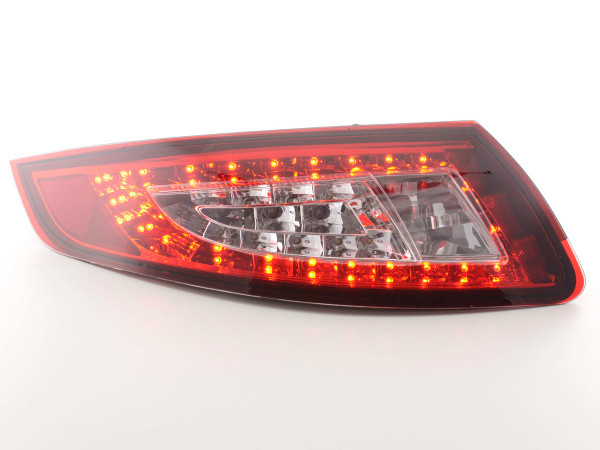 Led Taillights Porsche 911 type 997 Yr. 05-09 red/clear