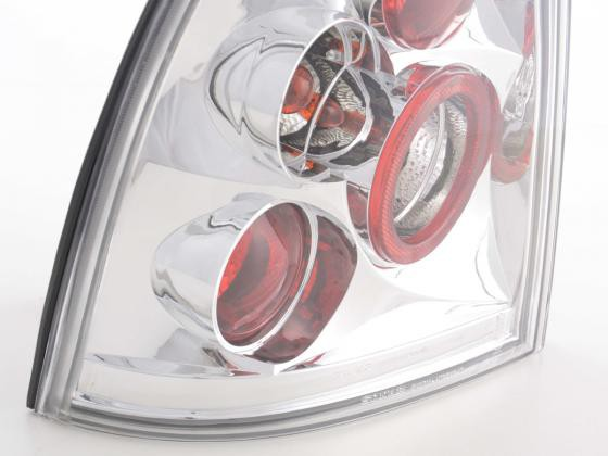 Taillights Opel Astra G Coupe/Cabrio Yr. 98-03 chrome