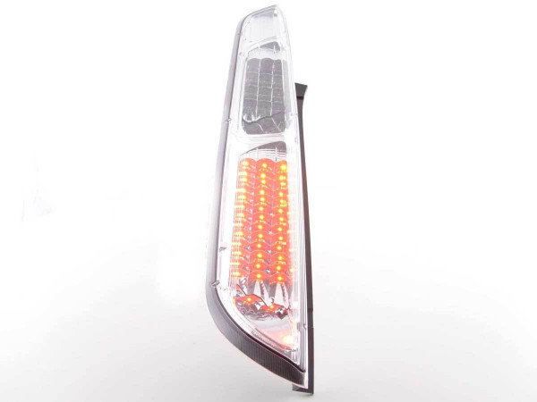 Led Taillights Ford Focus 2 5-dr Yr. 08-10 chrome