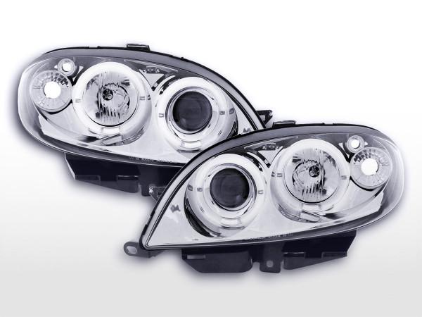 headlight Citroen Saxo Yr. 00-02 chrome