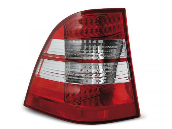 Led Tail Lights Red White Fits Mercedes W163 Ml M-klasa 03.98-05