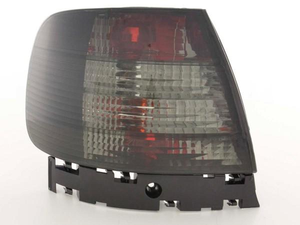 Taillights Audi A4 saloon type B5 Yr. 95-00 black