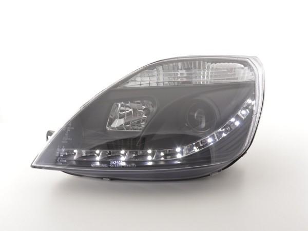 Daylight headlight Ford Fiesta type MK6 Yr. 03-07 black