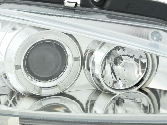 headlight Peugeot 106 Yr. 96-03 chrome