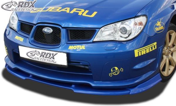 RDX Front Spoiler VARIO-X SUBARU Impreza 3 (GD) WRX 2005-2007