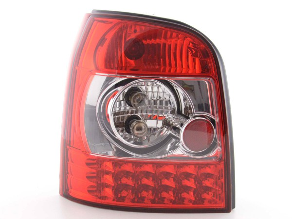 Led Taillights Audi A4 Avant type B5 Yr. 95-00 clear/red