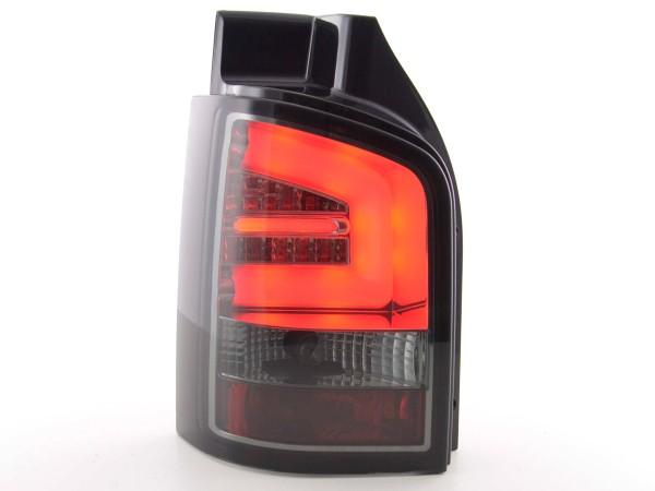 Taillights Set LED VW T5 Yr. 2010- black