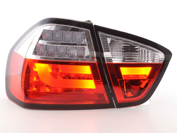 Rear lights Set LED BMW serie 3 E90 saloon Yr. 05-08 red/clear