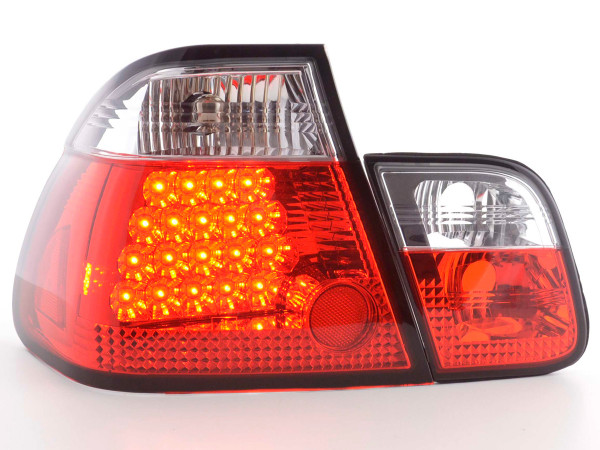 Led Taillights BMW serie 3 saloon type E46 Yr. 98-01 clear/red