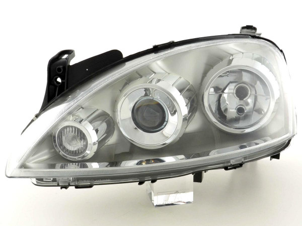 Spare parts headlight left Opel Corsa C Yr. 03-06