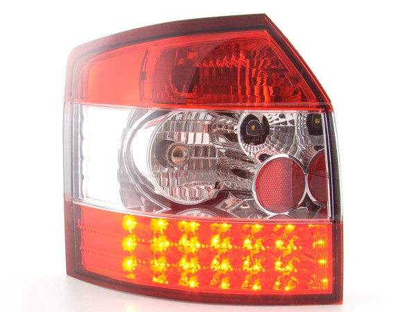 Led Taillights Audi A4 Avant type 8E 01-02 clear/red