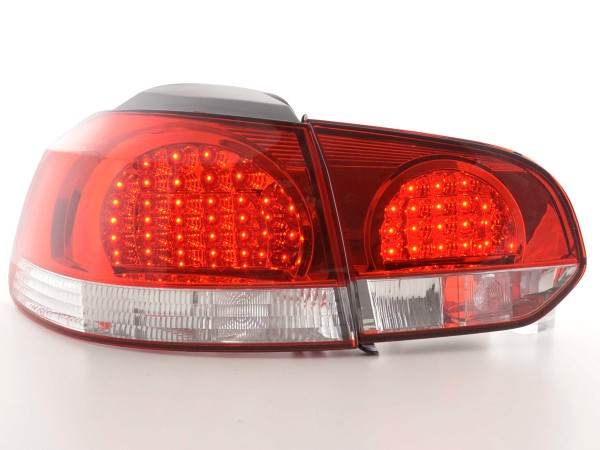 Led Rear lights VW Golf 6 type 1K Yr. 08- clear/red